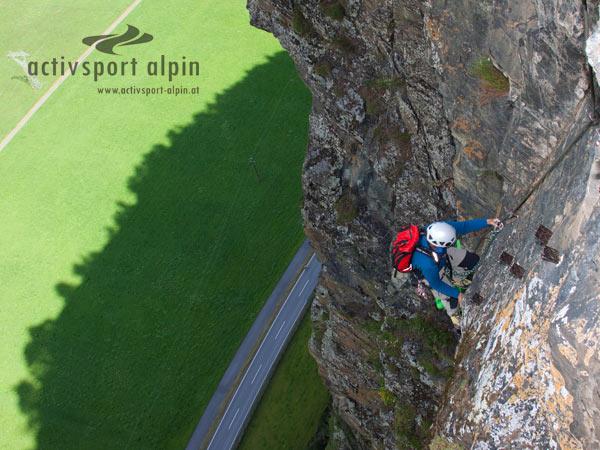 Klettersteig Längenfeld : Reinhard schiestl klettersteig burgsteinwand