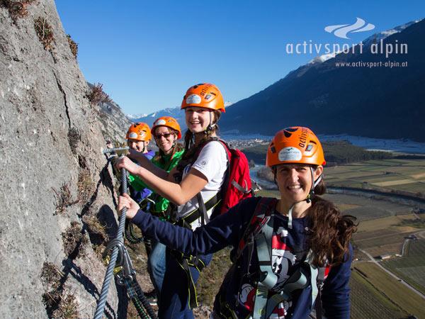 Klettersteig Geierwand : Klettersteig stuibenfall im Ötztal aktivsport alpin
