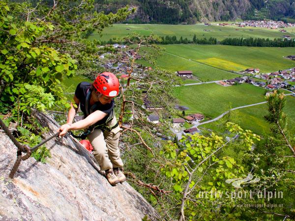 Klettersteig Lehner Wasserfall : Klettersteig lehner wasserfall extrem aktivsport alpin