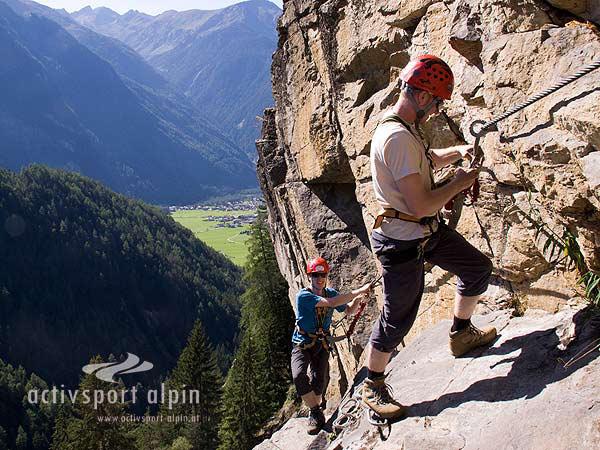 Klettersteig Stuibenfall : Klettersteig stuibenfall im Ötztal aktivsport alpin