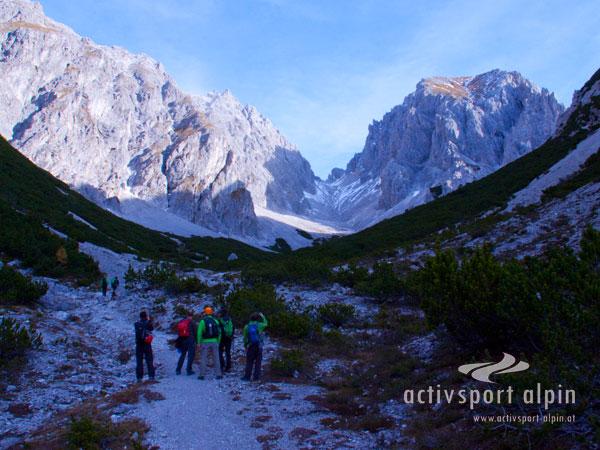 Klettersteig Wankspitze : Imster klettersteig maldonkopf aktivsport alpin
