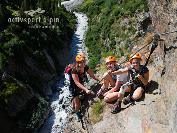 Klettersteig Obergurgl : Klettersteig stuibenfall im Ötztal aktivsport alpin