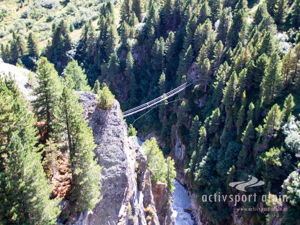 Klettersteig Zirbenwald : Klettersteig stuibenfall im Ötztal aktivsport alpin